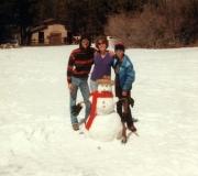 Mark, Mom & Tom in Big Bear