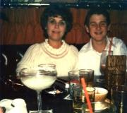 Mom & Ken at Sierra's After Ken's Confirmation