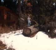 Mom in Big Bear