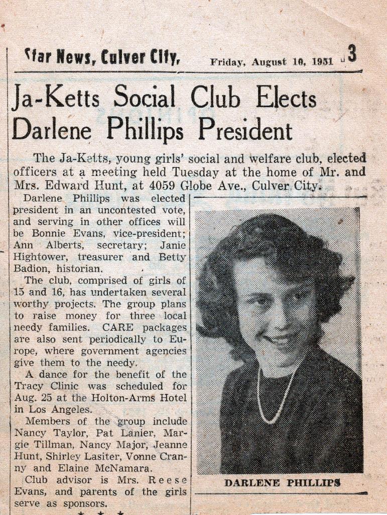 Mom - Ja-Ketts President