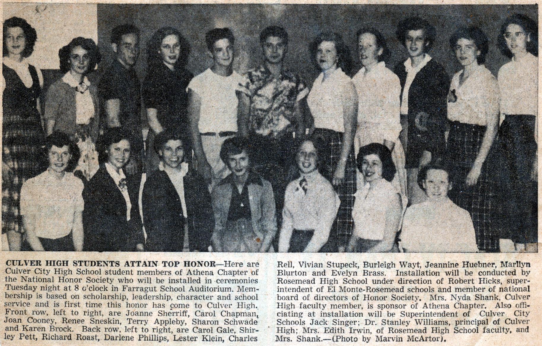 Mom - National Honor Society