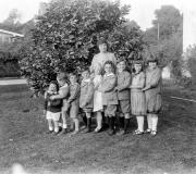 Augusta Frances Becker Fleischer known as Grammy with her grandchildren