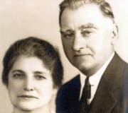 Augustine & Philip Grandma & Grandpa Fleischer