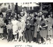 Bob's Baptism Group Photo - Sept 1946