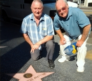 Bud & Terry - Uncle Bill Beaudine Walk of Fame Star
