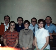Philip sr, Mike, Terry, Phil jr, Marta, Peggy & Darlene