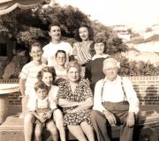 Grandma & Grandpa Fleischer Visiting Philip Anderson Family Hermosa Beach est 1945-46