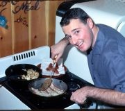 Terry Cooks Breakfast