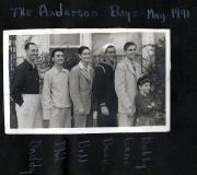 The Anderson Boys - 1941