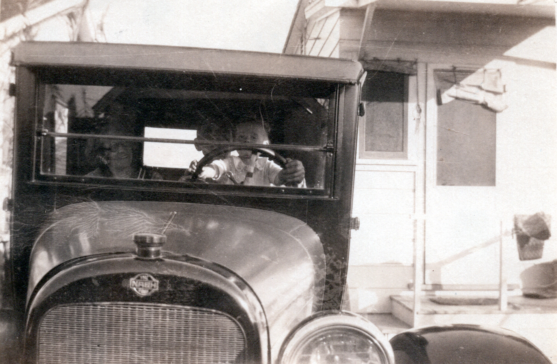 Bob Driving Grandpa's Car