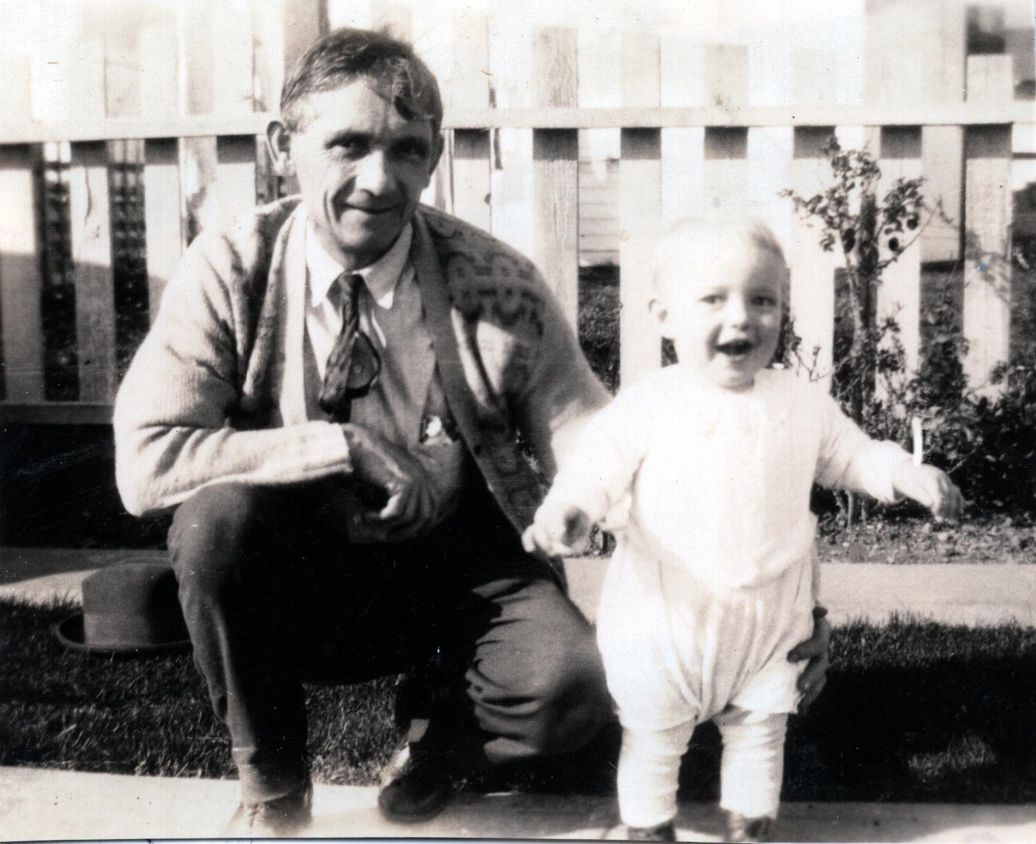 Bob & Grandpa Henry