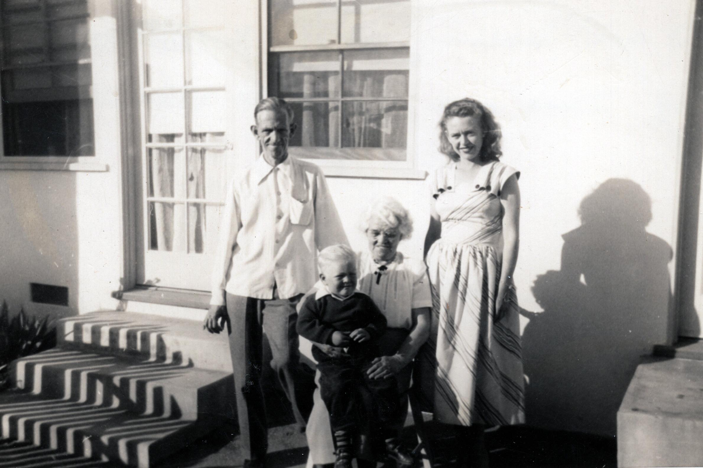Four Generations - Harold, Duane, Jane & Shirley