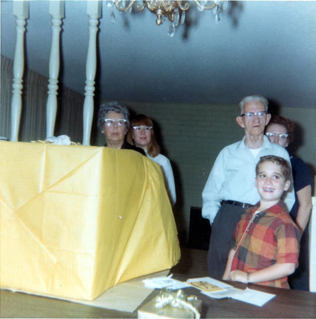 Gram & Buddy Opening Gift