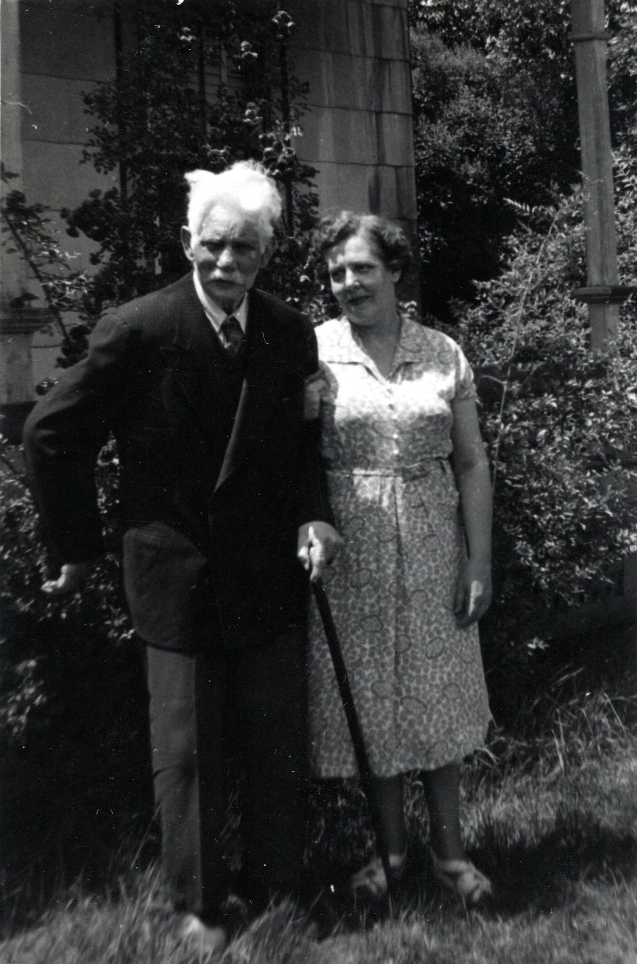Harvey Whitehead & Ruth (Daughter)