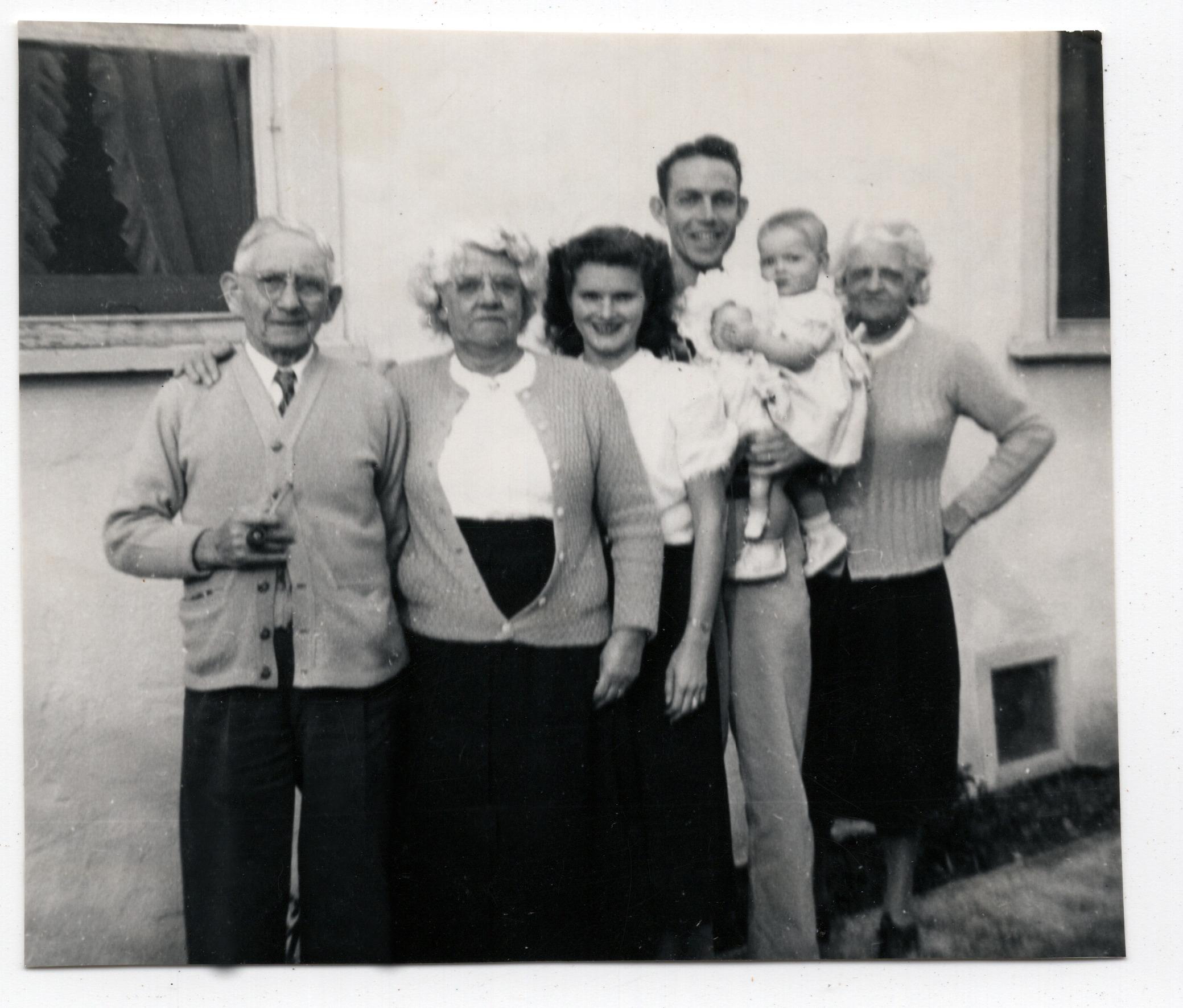 Henry, Jane, Melba, Bob, Susan & Annie