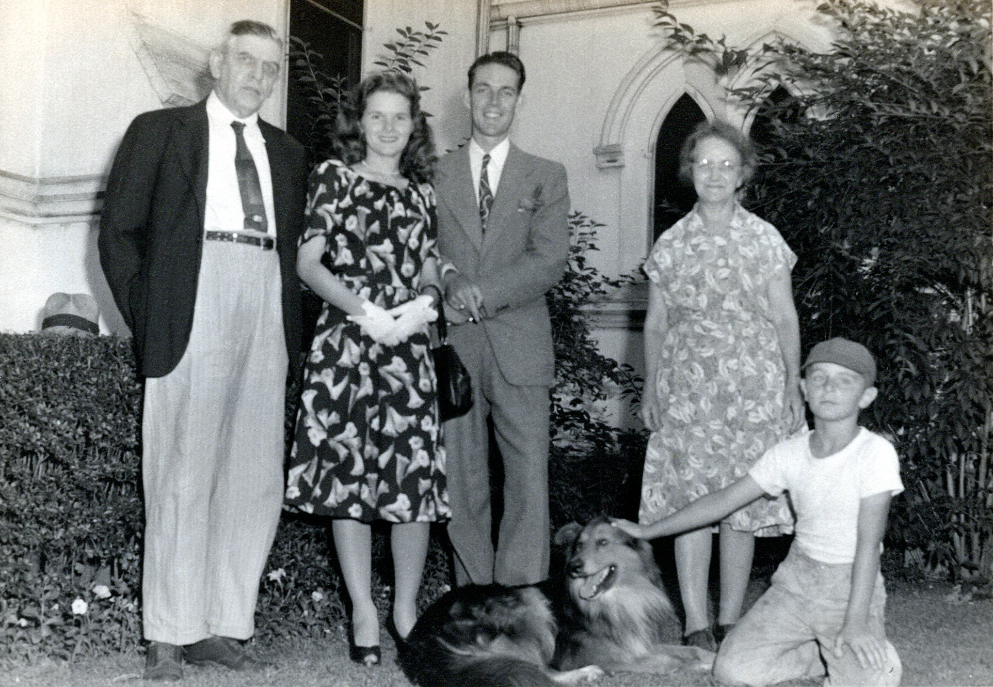 Isaac (Ike) Fletcher, Melba & Bob Phillips, Alice Fletcher