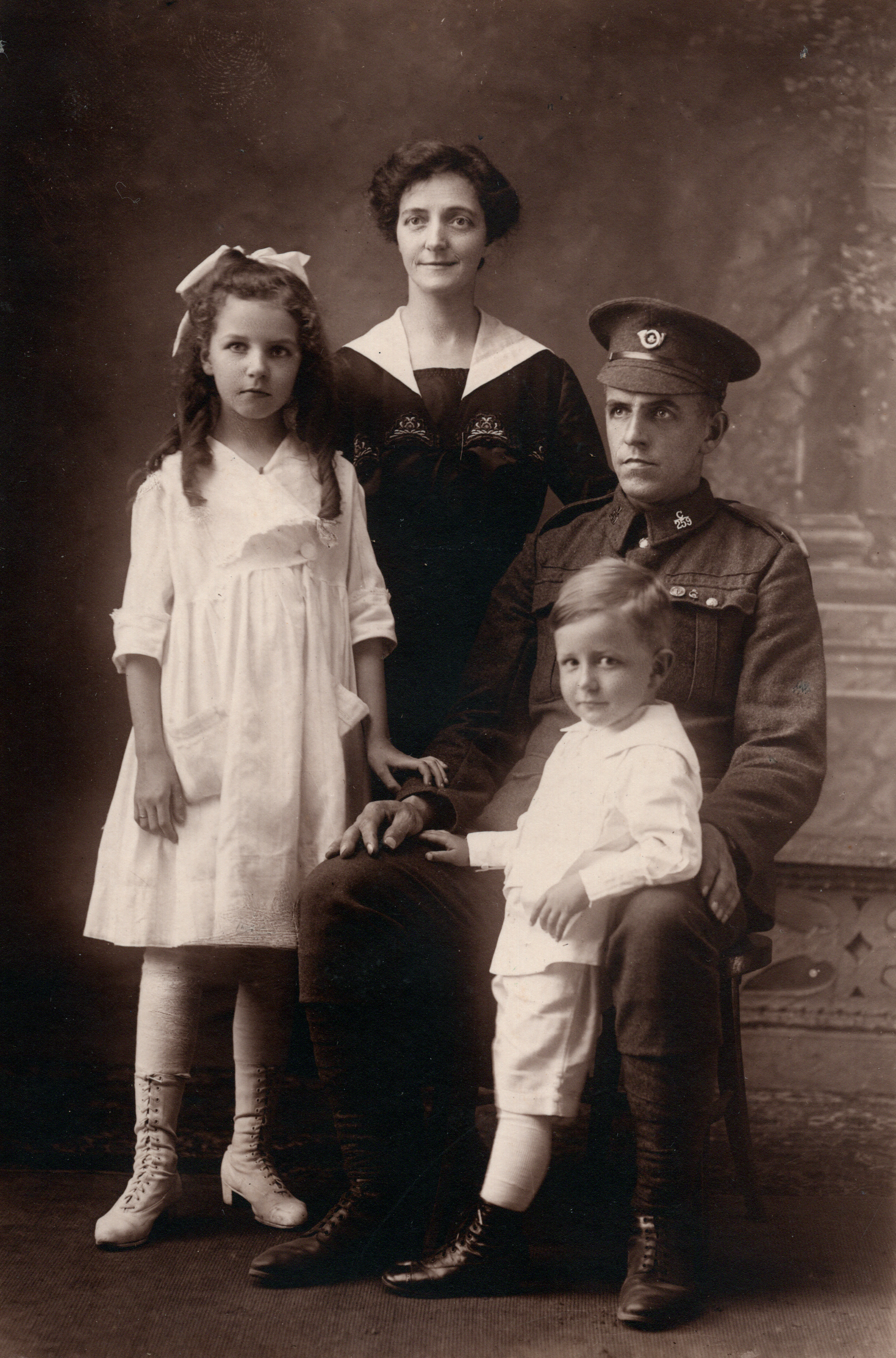 Ivy, Alice, Isaac (Ike) & Harry Fletcher