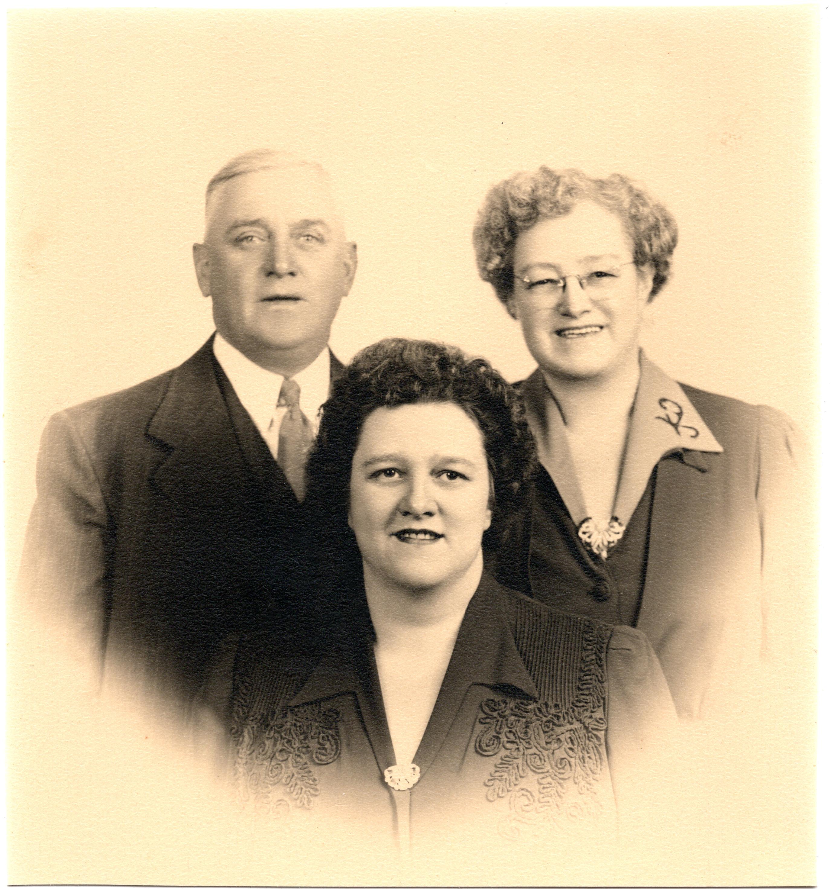John, Bella & Evelyn Fletcher