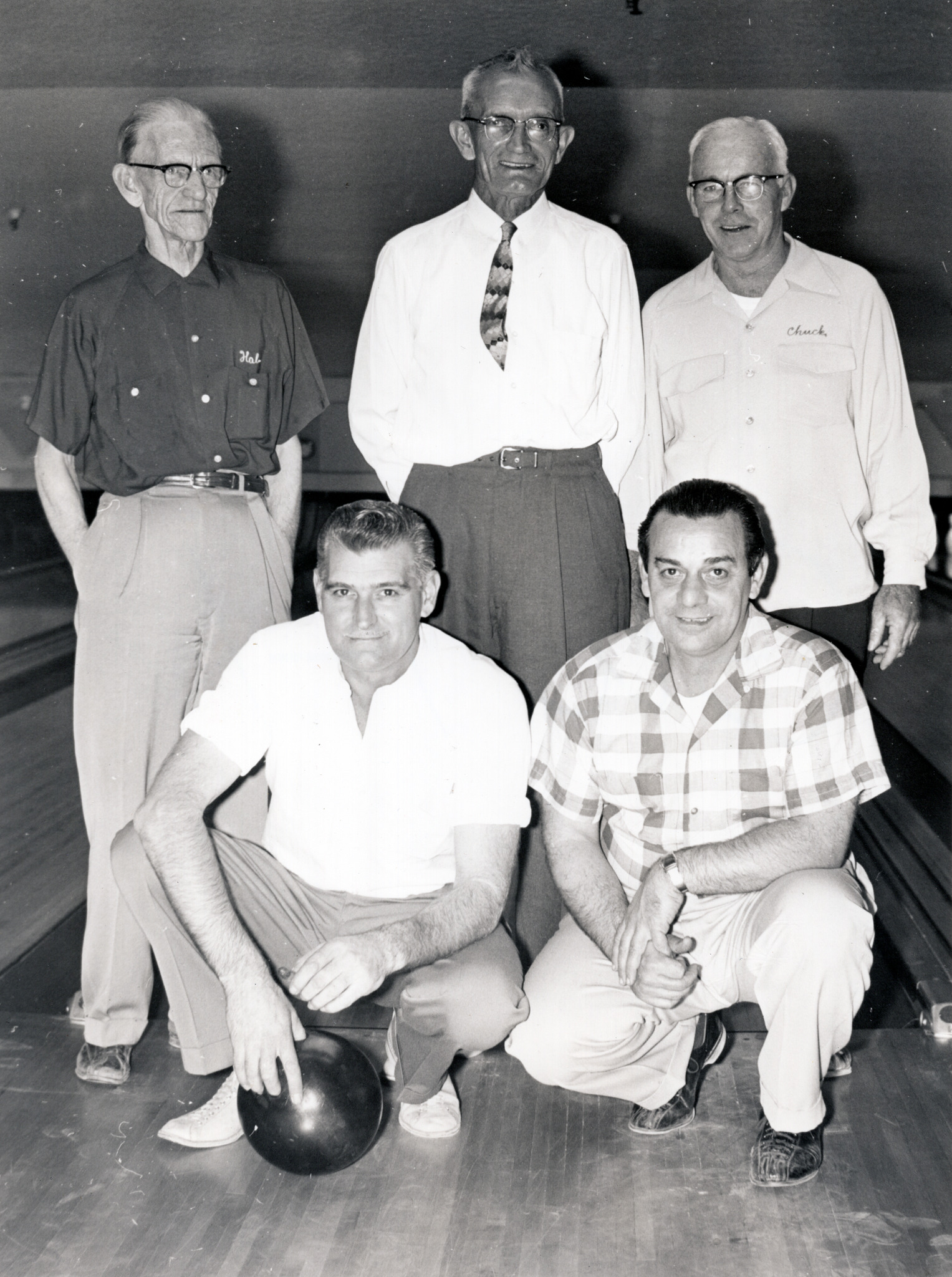 MGM Bowling Team - Harold Phillips (back left)
