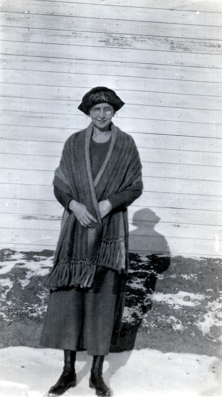 Martha Fletcher Tindell in Bethune Saskatchewan