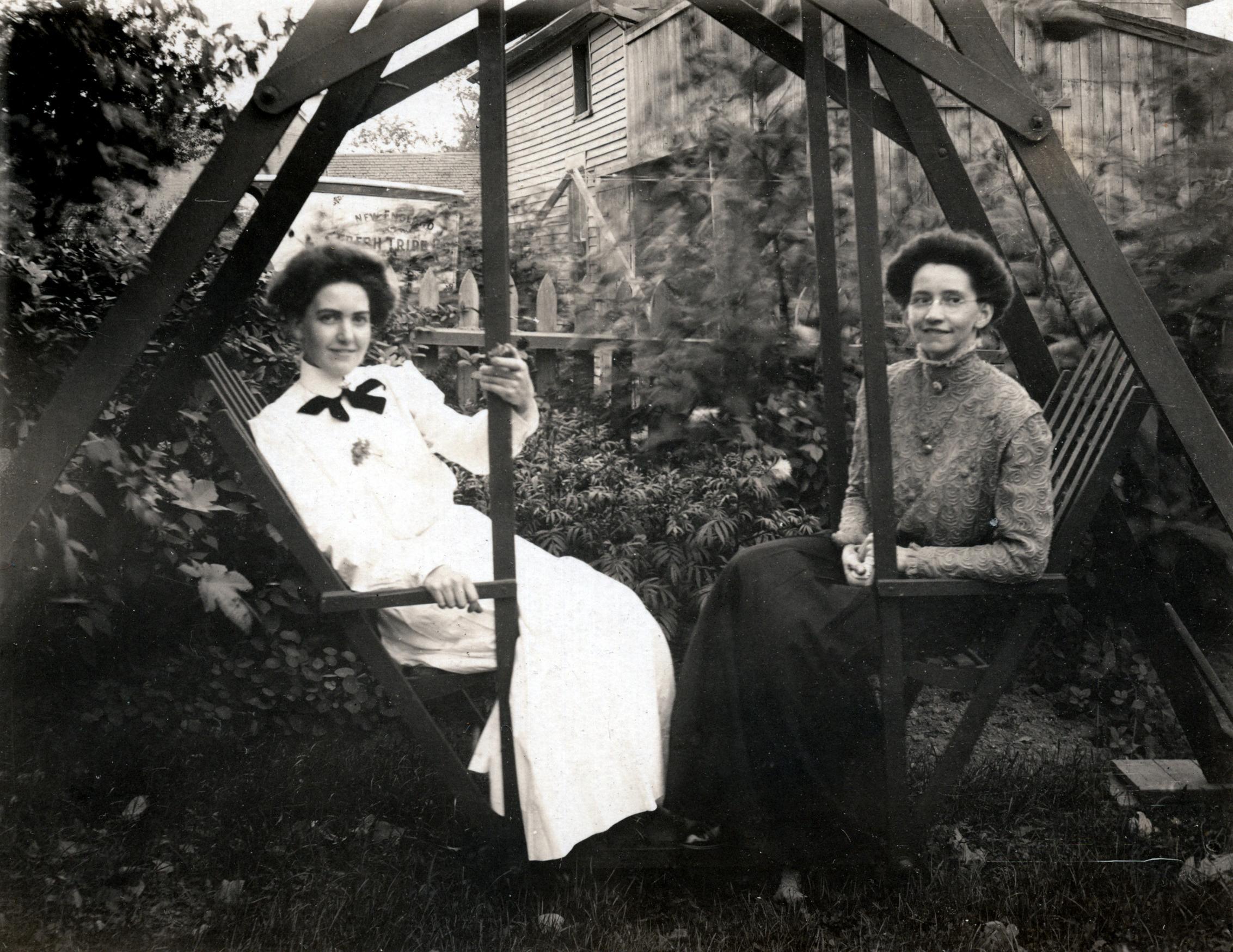 Martha Fletcher Tindell (Right)