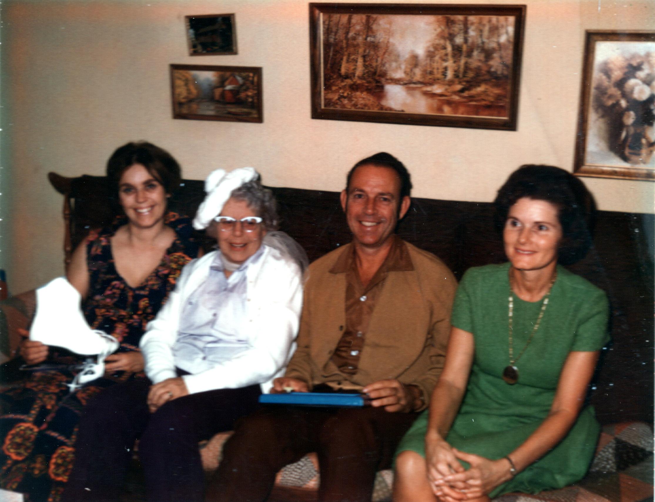 Mom, Gram, Bob & Melba