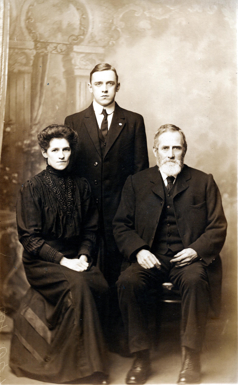 Nancy, John & Samuel Fletcher (Father)