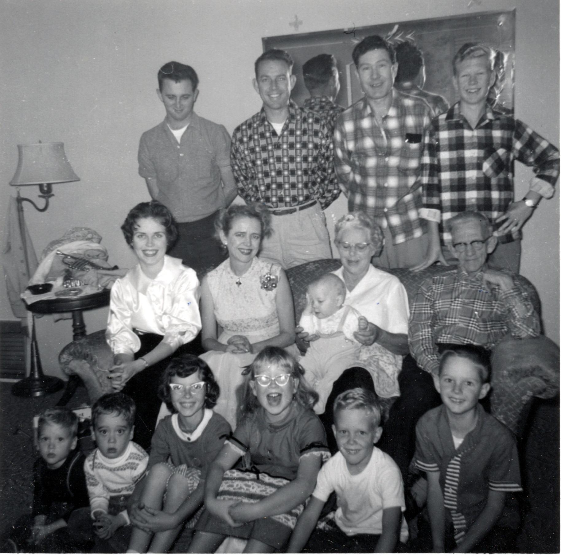 Phillips Family Christmas - 1959