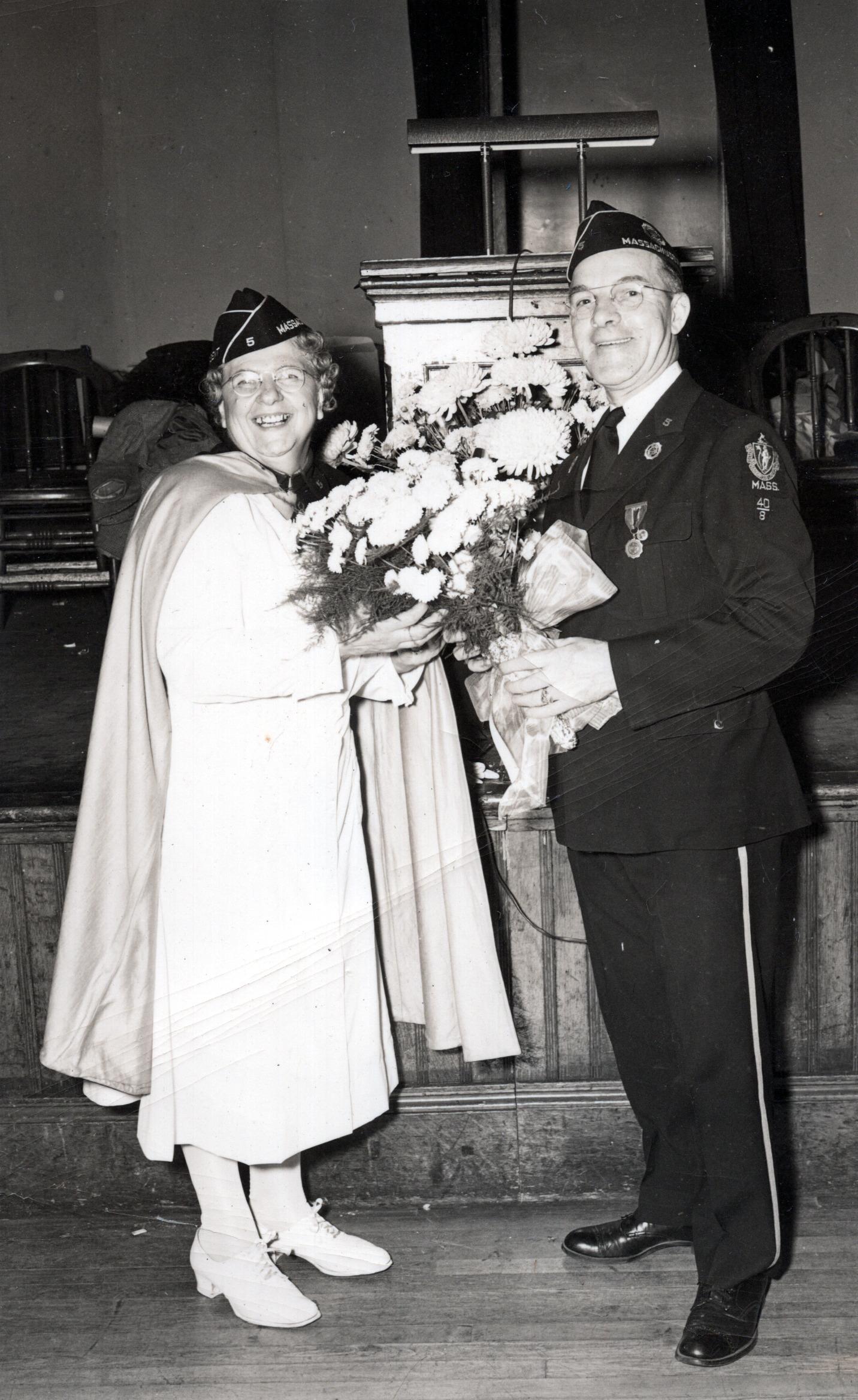 Ruth & Frank Mcgrath - Oct 7, 1948
