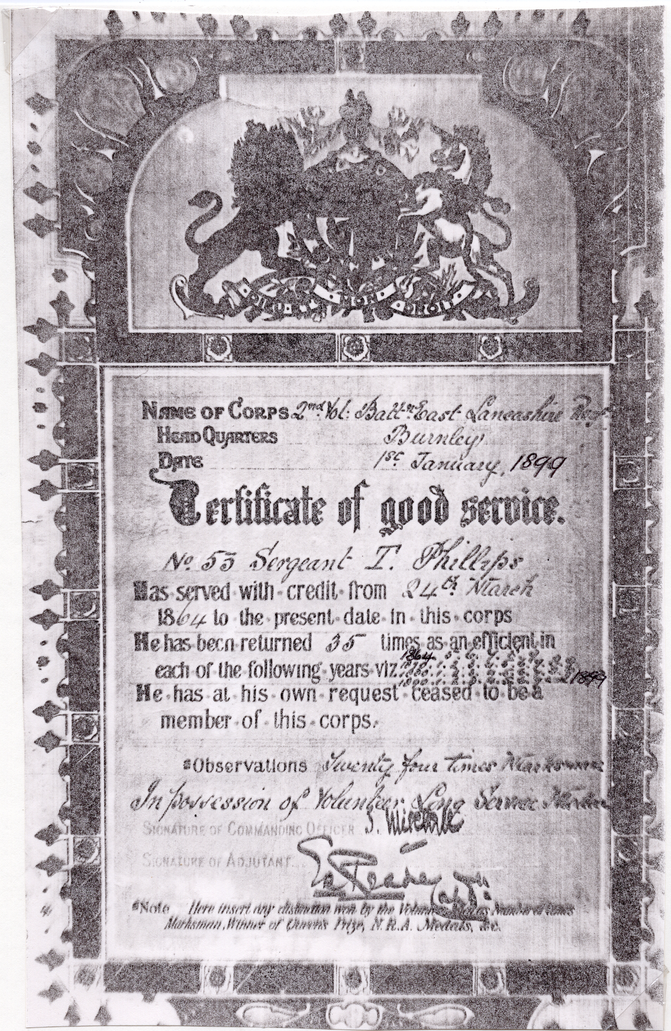 Thomas Phillips Military Discharge 01-01-1899-after resize