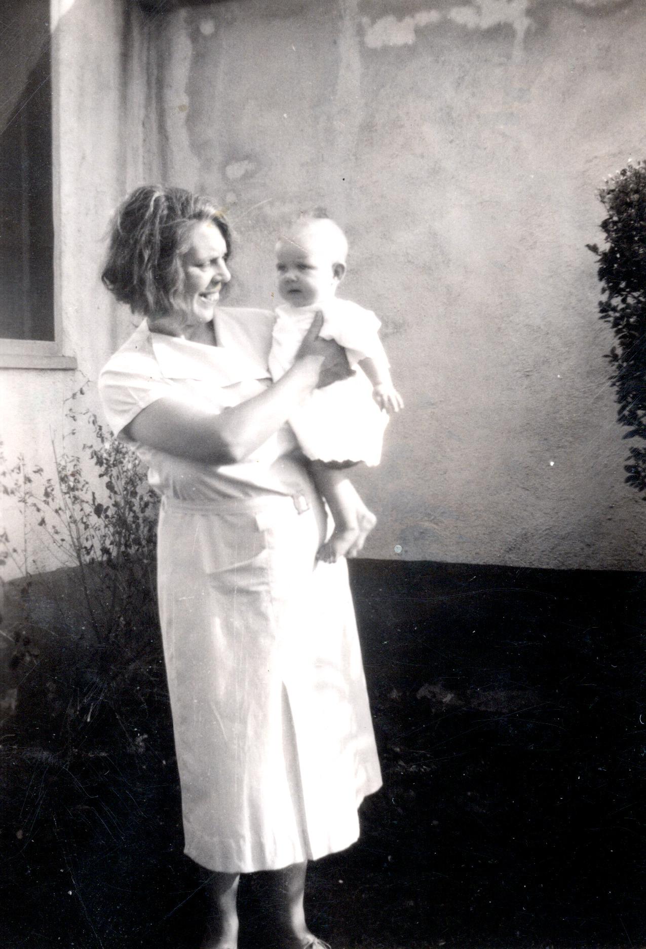 Viola & Darlene - 1935