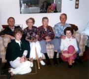 Bud, Darlene, Shirley, Bob Mauzey, Bob & Melba