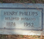 Henry Phillips Headstone