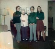 Mom, Gram, Shirley & Denise