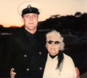 Terry & Gram at Terry's Navy Graduation
