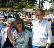Darlene, Linda and Bobbie at Picnic 2004