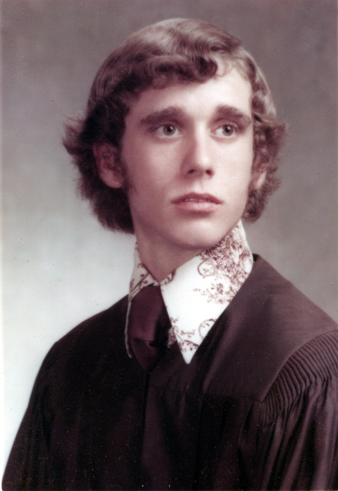 Buddy Crespi Graduation 1974