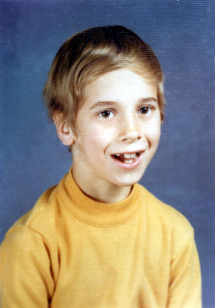 Roger 3rd Grade - 1971