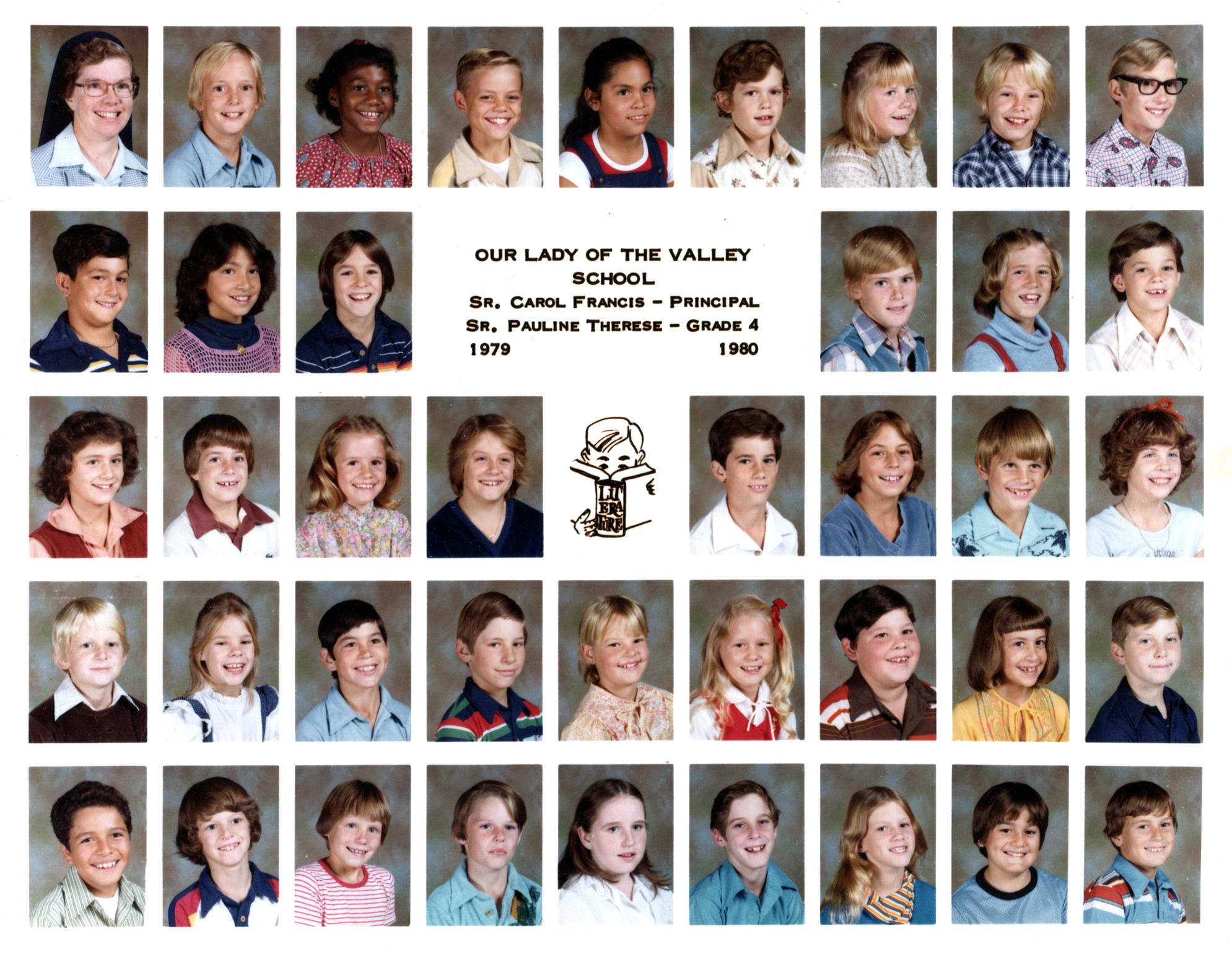 Tom's 4th Grade Class 1979