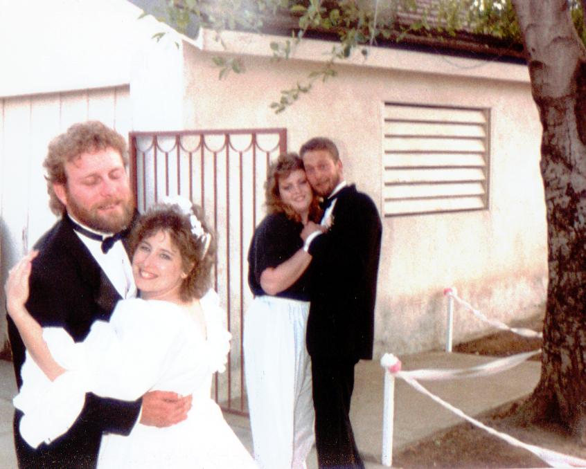 Terry, Gail, Mark & Mandy