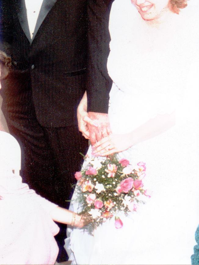 Terry & Gail Wedding Bouquet