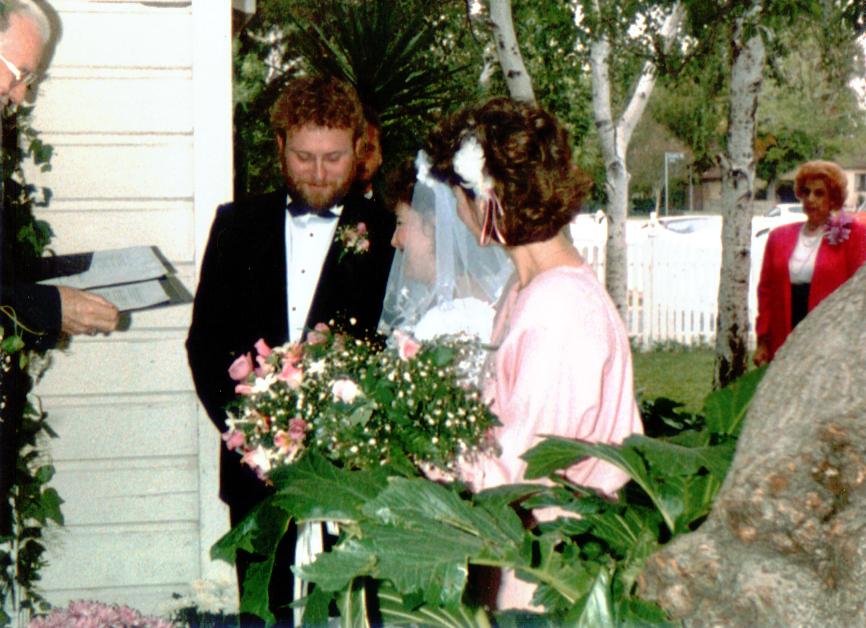 Terry & Gail Wedding Ceremony