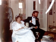 Terry & Gail Opening Wedding Gifts
