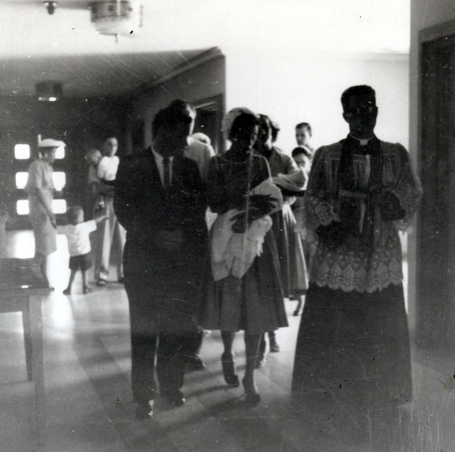 Terry's Baptism - Oct 1959