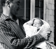 Grandpa & Buddy - May 1956