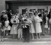 Mark's Baptism Group - May 1957