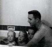 Terry, Mark, Buddy & Dad