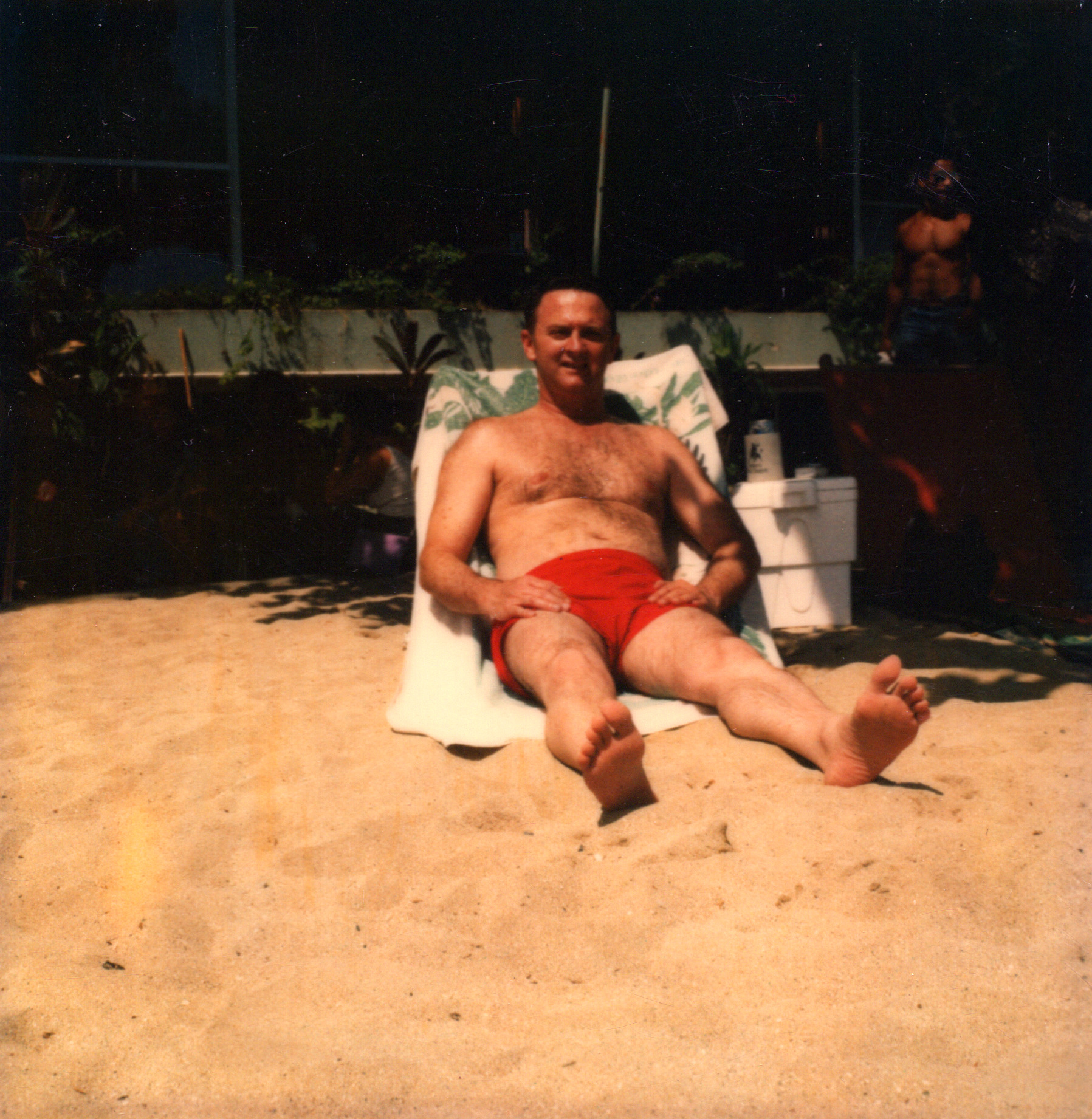Dad in Hawaii During Navy Cruise