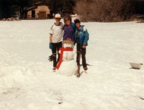 Ken, Mom & Tom in Big Bear