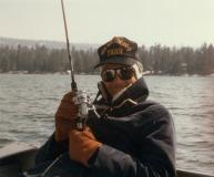 Mark Fishing in Big Bear